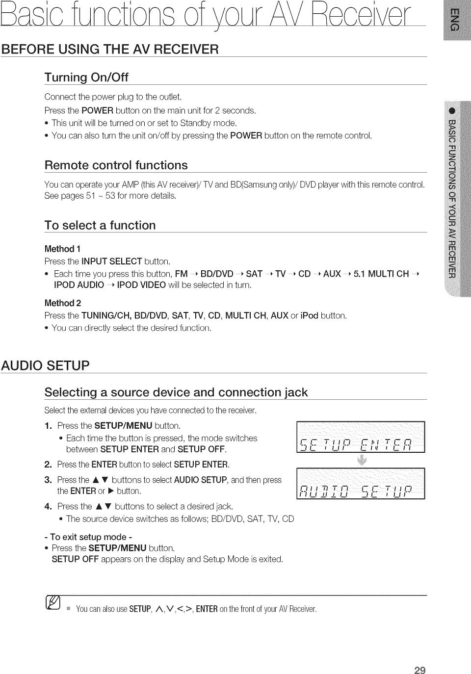 SAMSUNG Receivers Manual L1004096