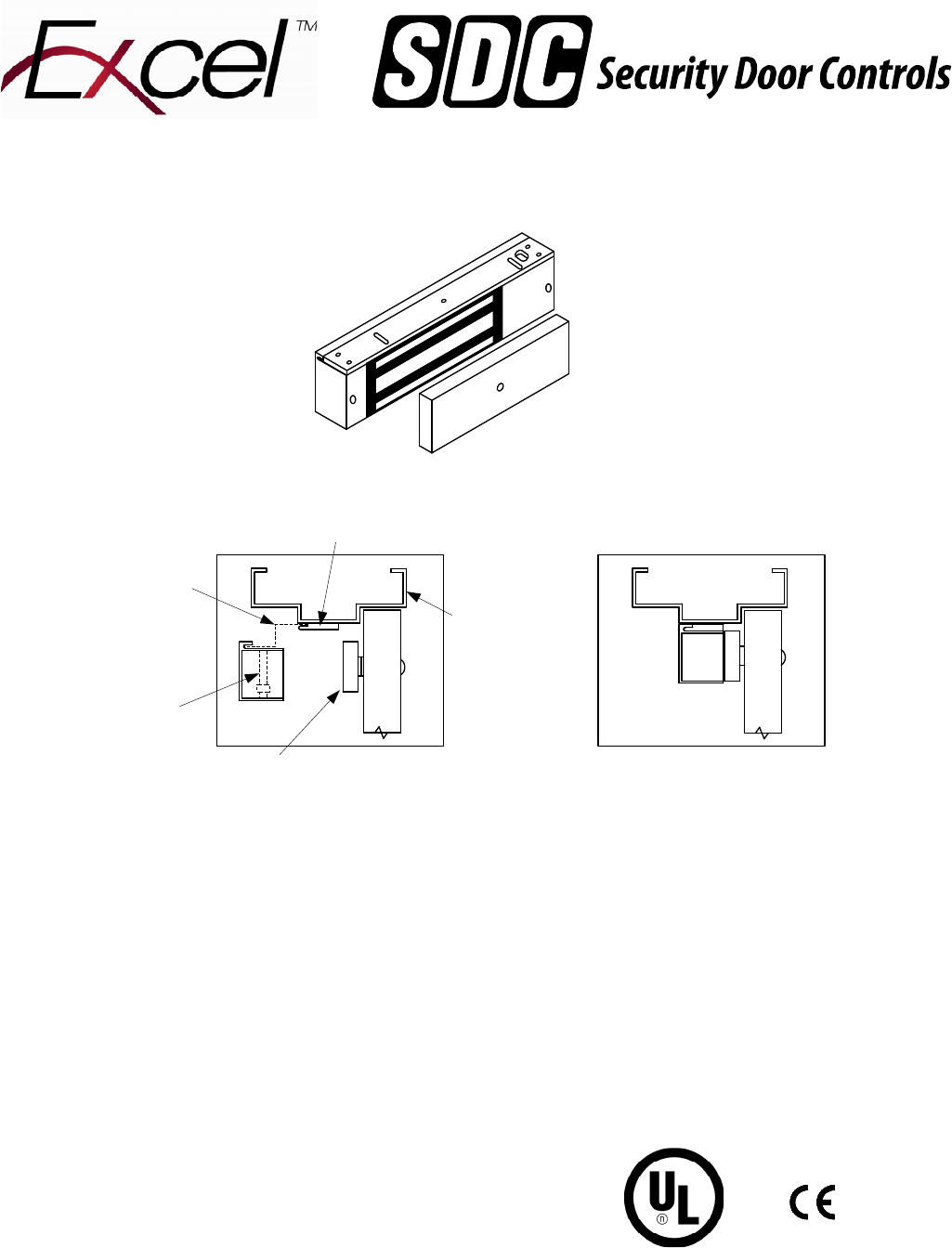 Sdc Inst E1200 Installation Instructions Series Magnetic Lock Spdt Relay Wiring Diagram