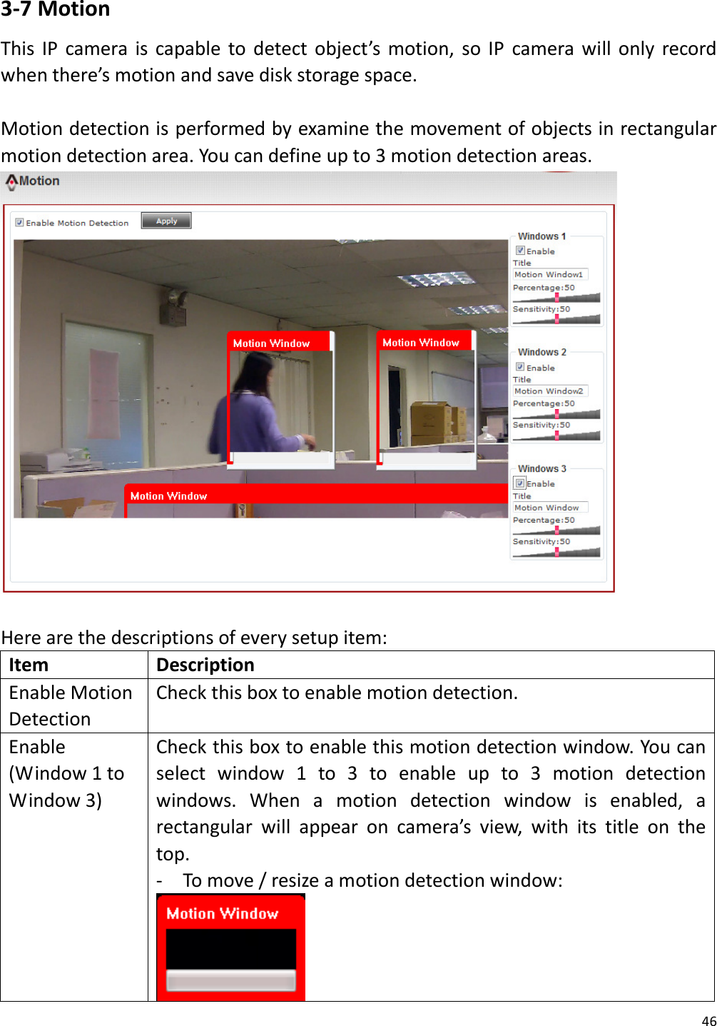 SMAX Technology 500WS320DM368 WIRELESS IP CAMERA User Manual