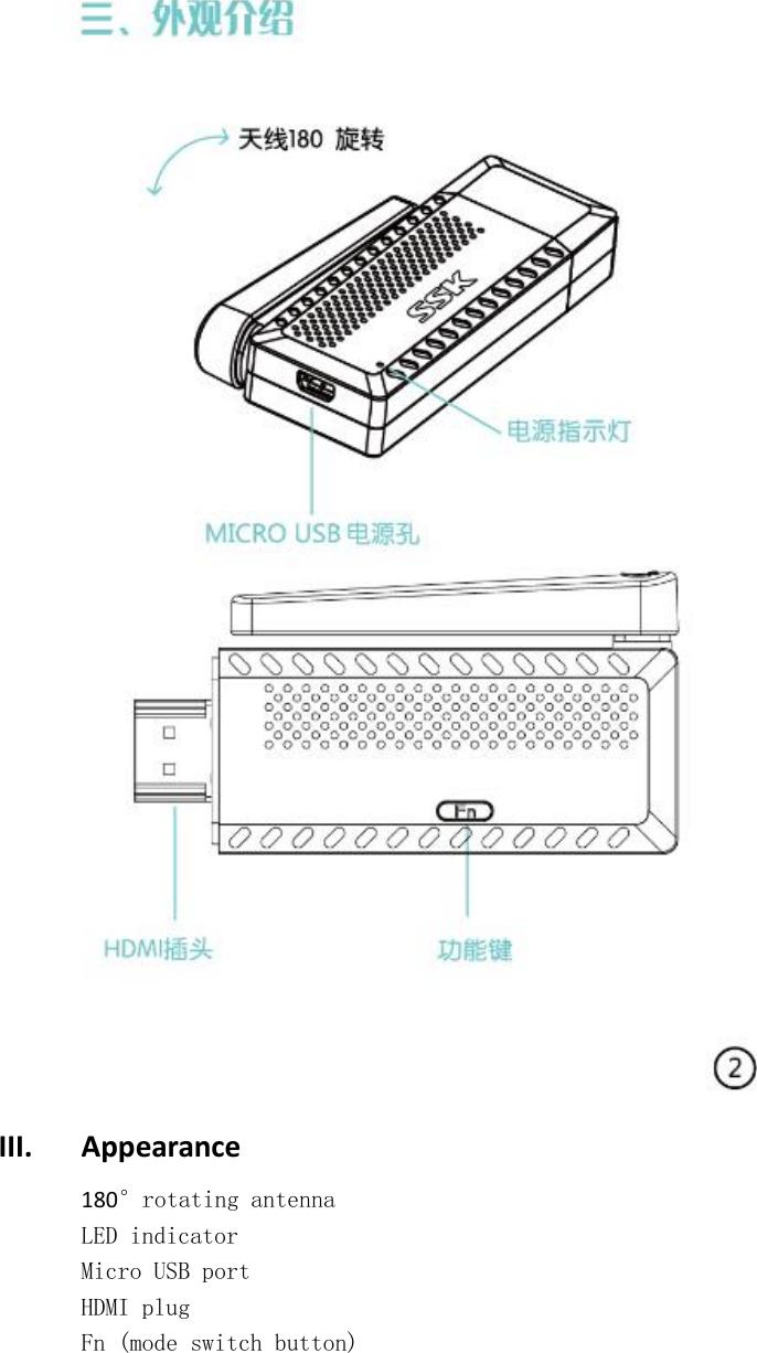 SSK SSP-Z100 Wireless Cast User Manual 15 SSP Z100 UserMan r1