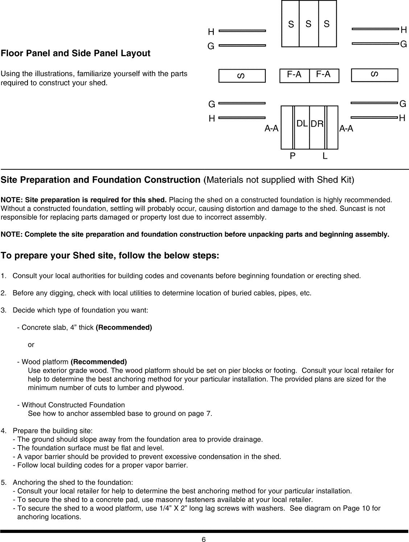 SUNCAST Building Manual L0907179