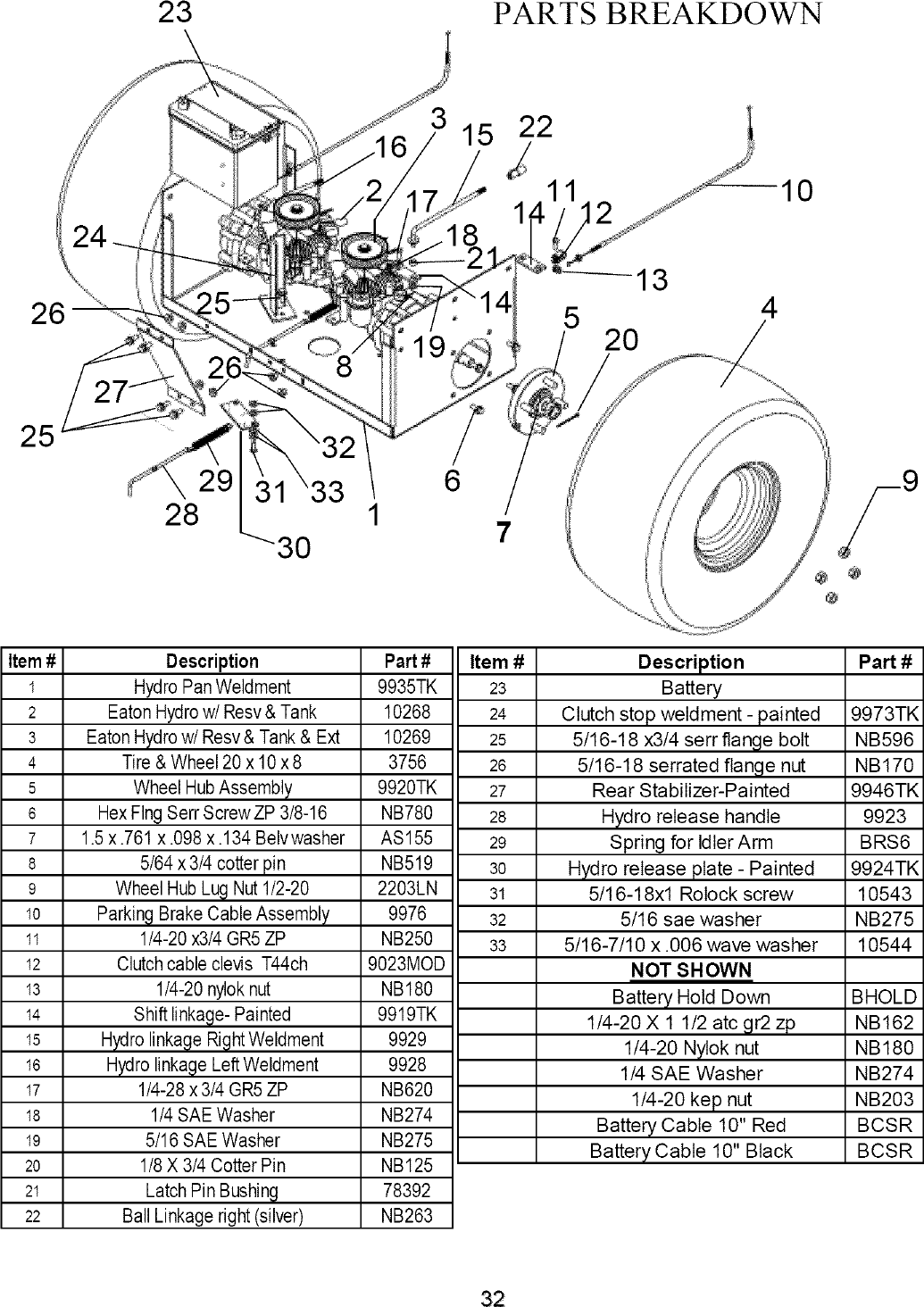 SWISHER Lawn, Riding Mower Rear Engine Manual L0701322