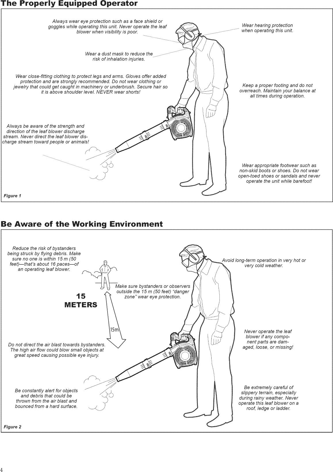 SWISHER Blower, Gas Manual L0904380