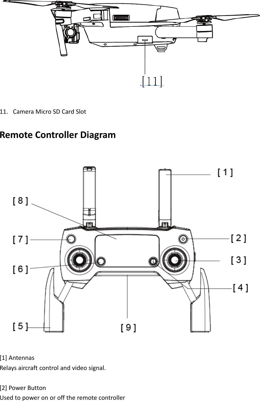 sz dji technology m1x1708 mavic pro platinum user manual