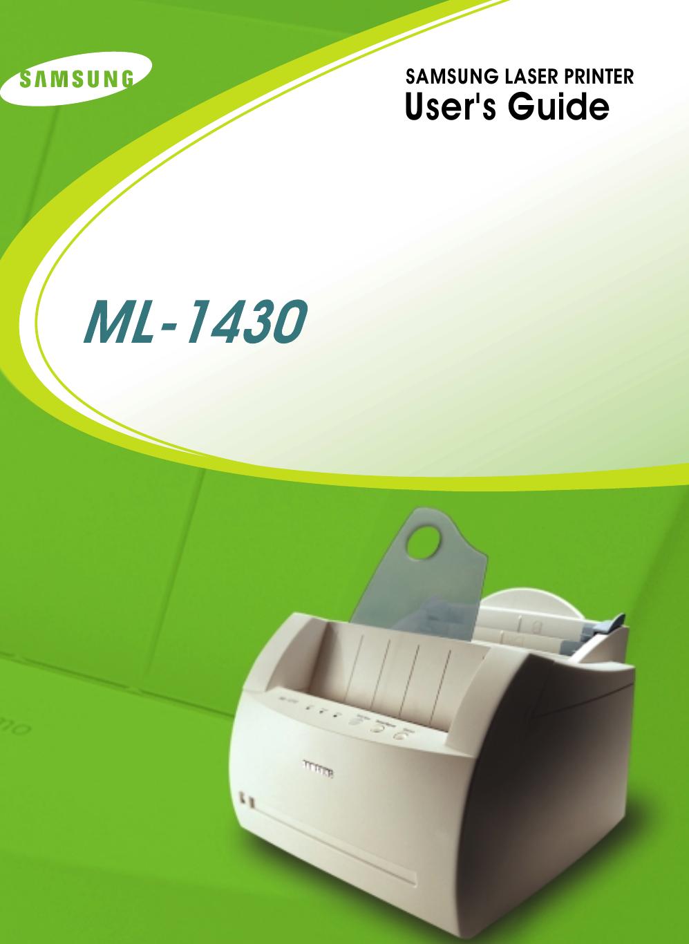 SAMSUNG ML1430 DRIVERS FOR WINDOWS 8