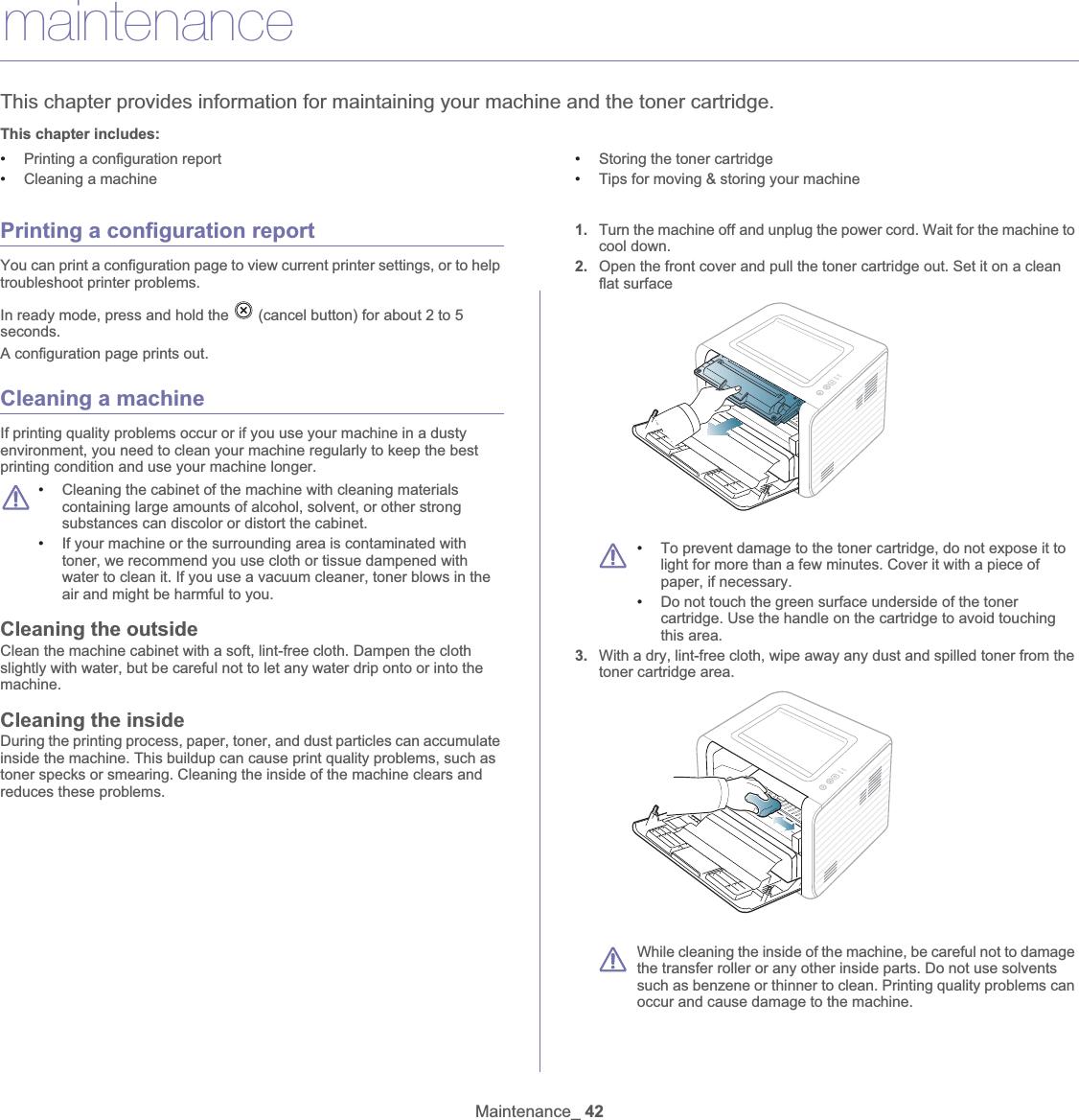 Samsung Electronics Co ML2545 Mono Laser Printer User Manual