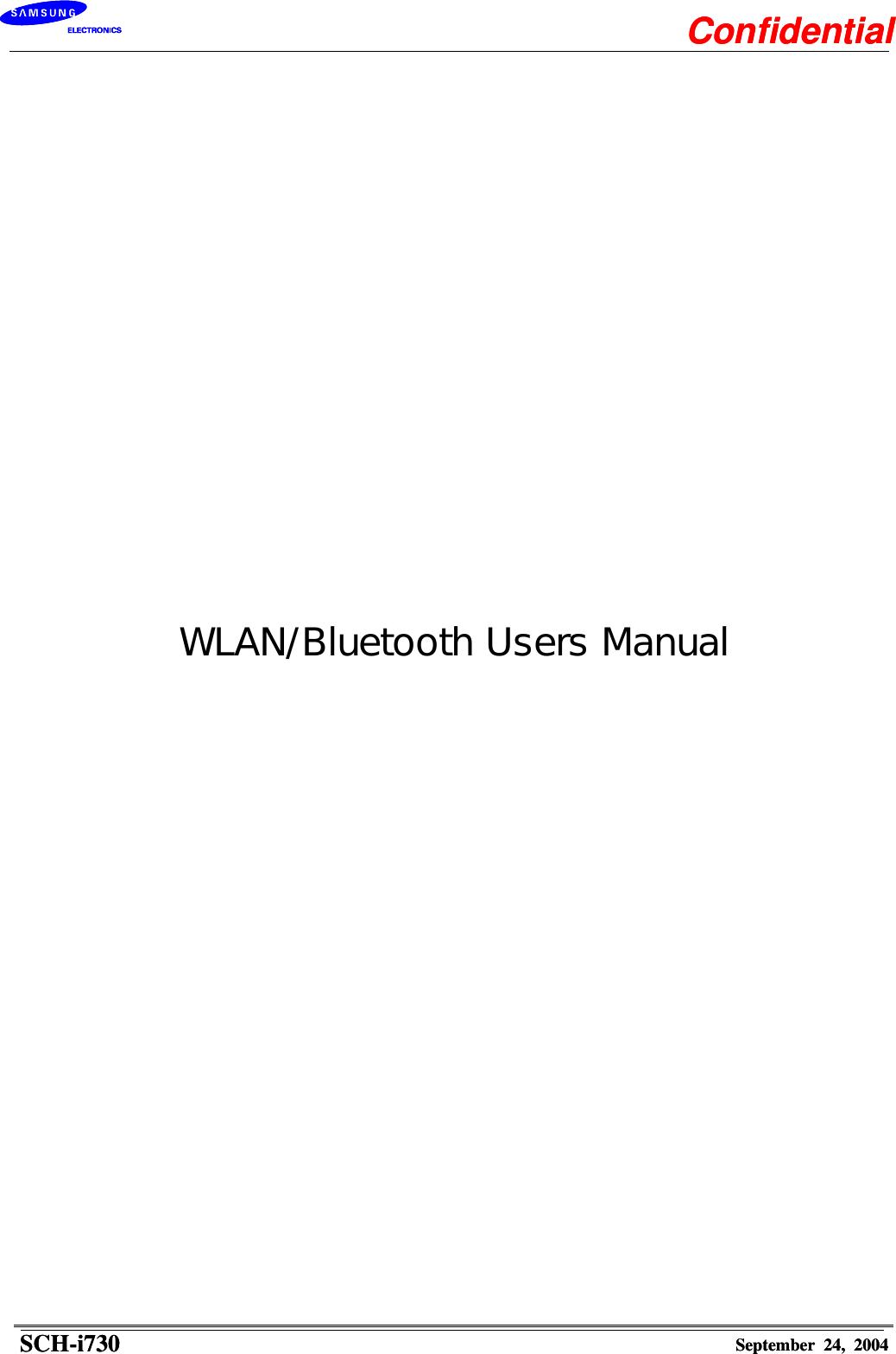 samsung electronics co schi730 dual band cdma phone w wlan rh usermanual wiki Samsung RFG298 Manual Manual Samsung UN32EH4000F