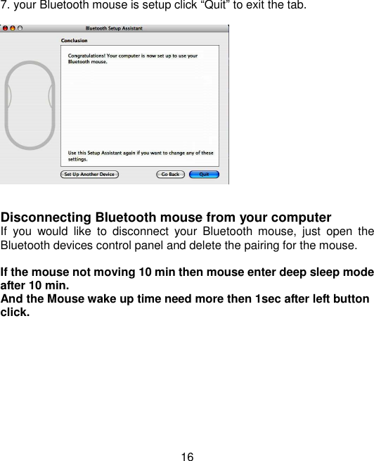 Samsung Electronics Co SM7PWB Bluetooth Mouse User Manual