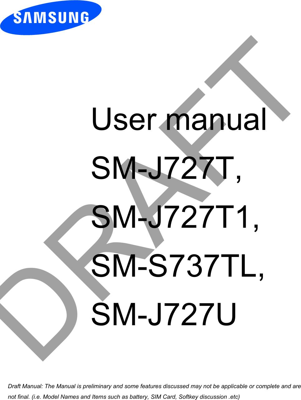 Samsung Electronics Co SMJ727T Multi-Band GSM/EDGE/UMTS/LTE Phone ...