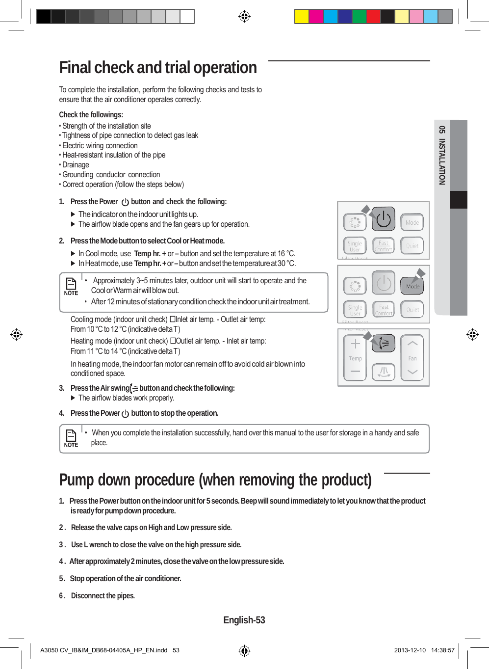 Samsung Electronics Co Swl B70f Air Conditioner User Manual 2 border=