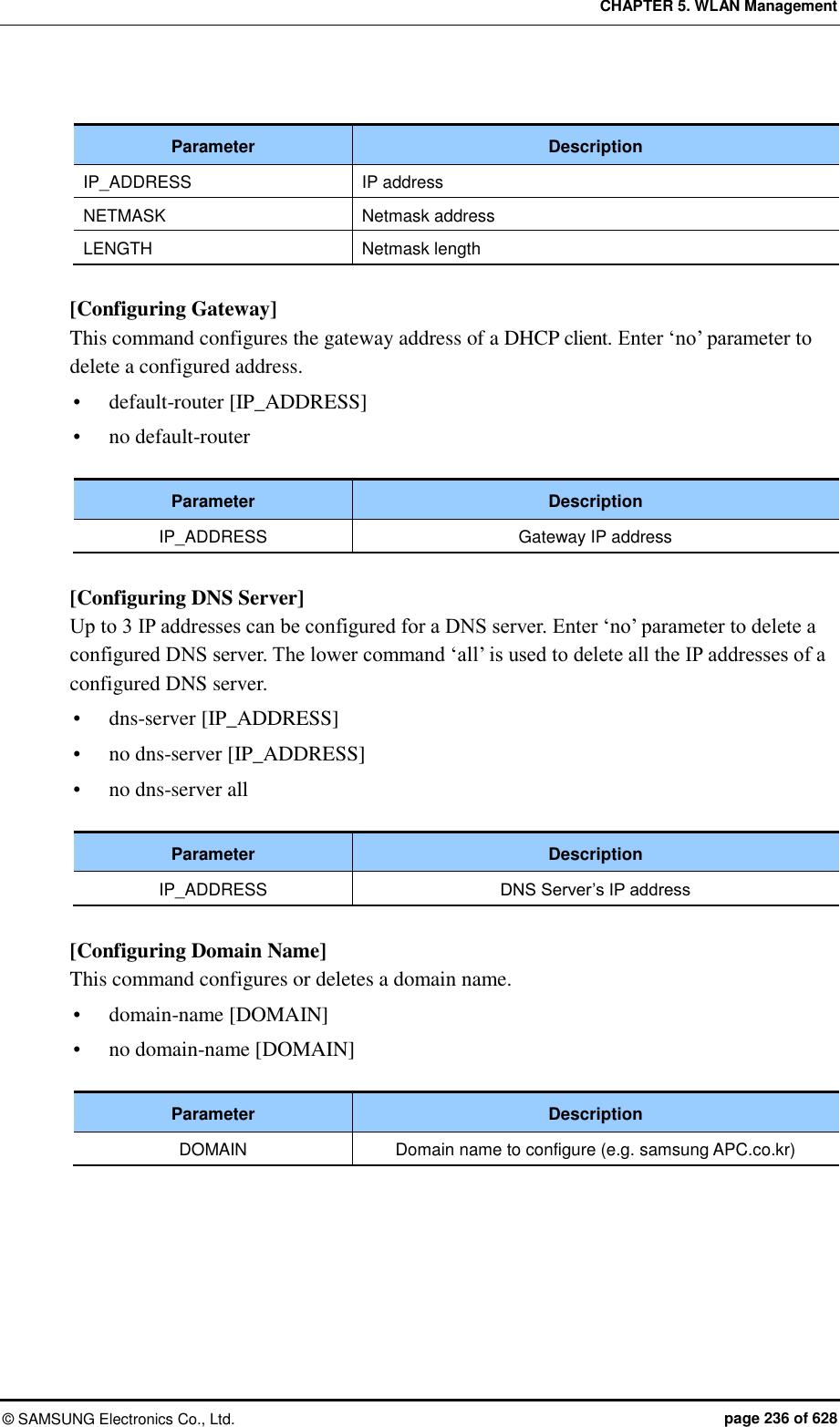 Samsung Electronics Co WEA453E WLAN Access Point User Manual