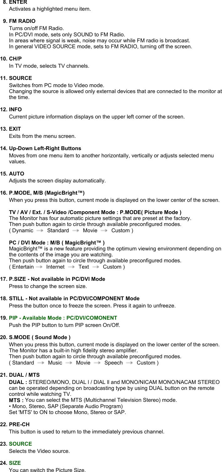 Samsung 730MW 20040819113602734 BN59 00390K 00En P