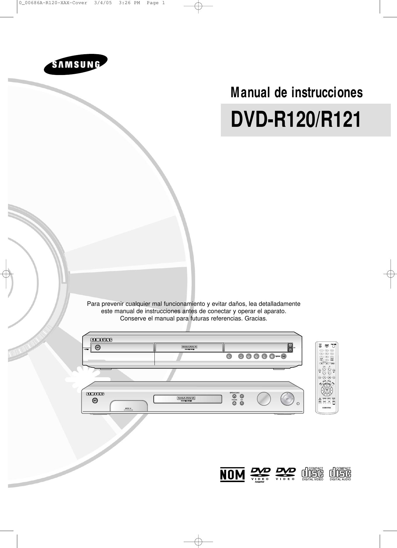 Samsung dvd-r120 dvd-r121 dvd-r122 dvd-r121 sm chassis k2-2nd.