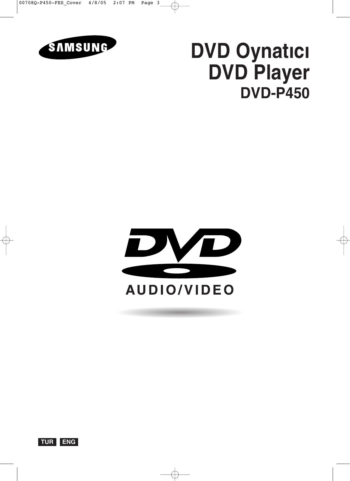 Samsung Dvd P450 20050504083112734 00708q Fes Tur Eng