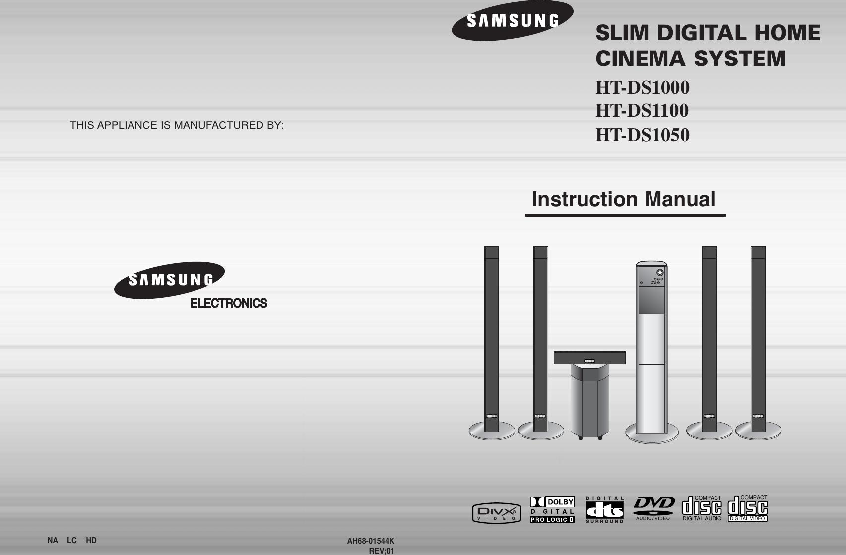 Samsung 1p~44p(DS1000) GB NOR HT DS1100T 20050610100853937