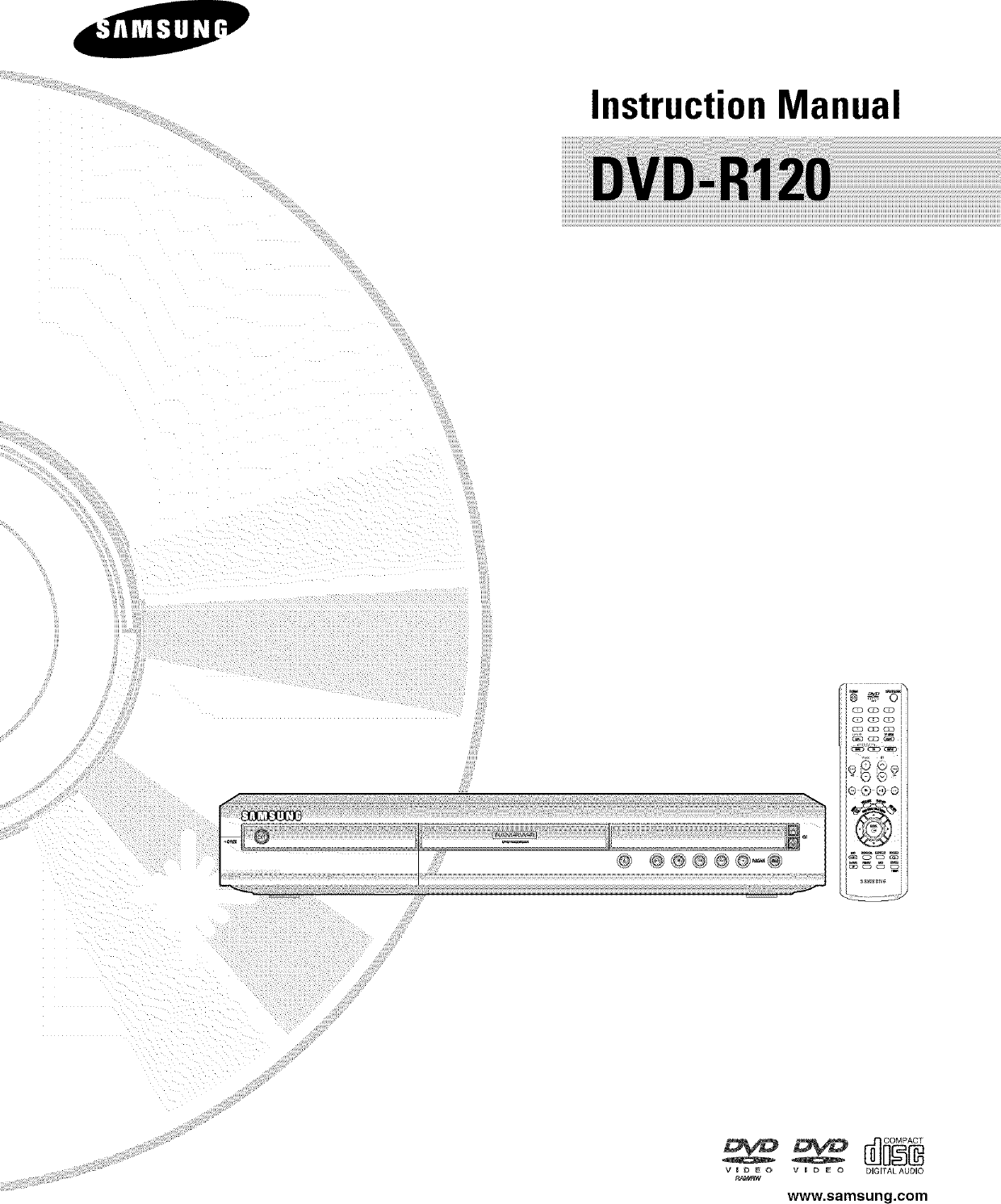 Page 9 of samsung dvd recorder dvd-r120 user guide | manualsonline. Com.