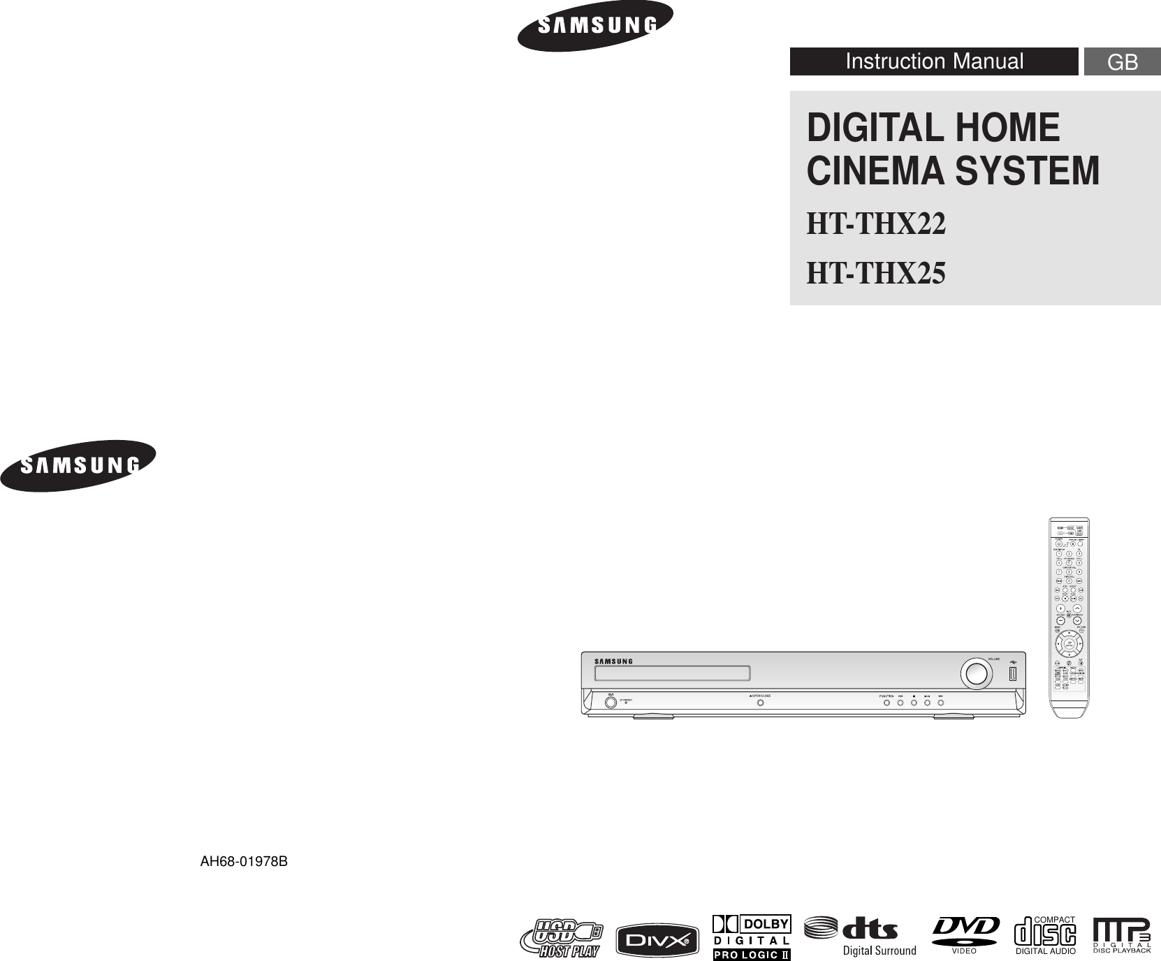 Samsung Htthx22 User Manual To The 77070a7c 70cb 4ff4 Bc4b