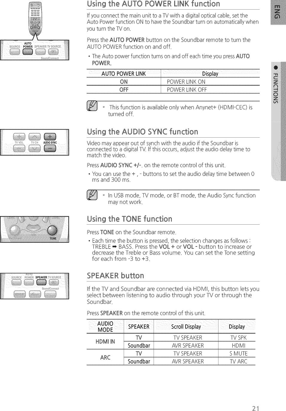 Samsung HW H500/ZA ZZ01 User Manual SPEAKER Manuals And Guides 1505073L