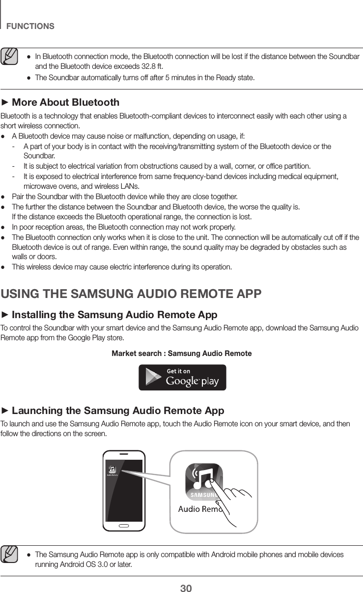 Samsung HW K550/ZA ZZ01 User Manual SPEAKER Manuals And