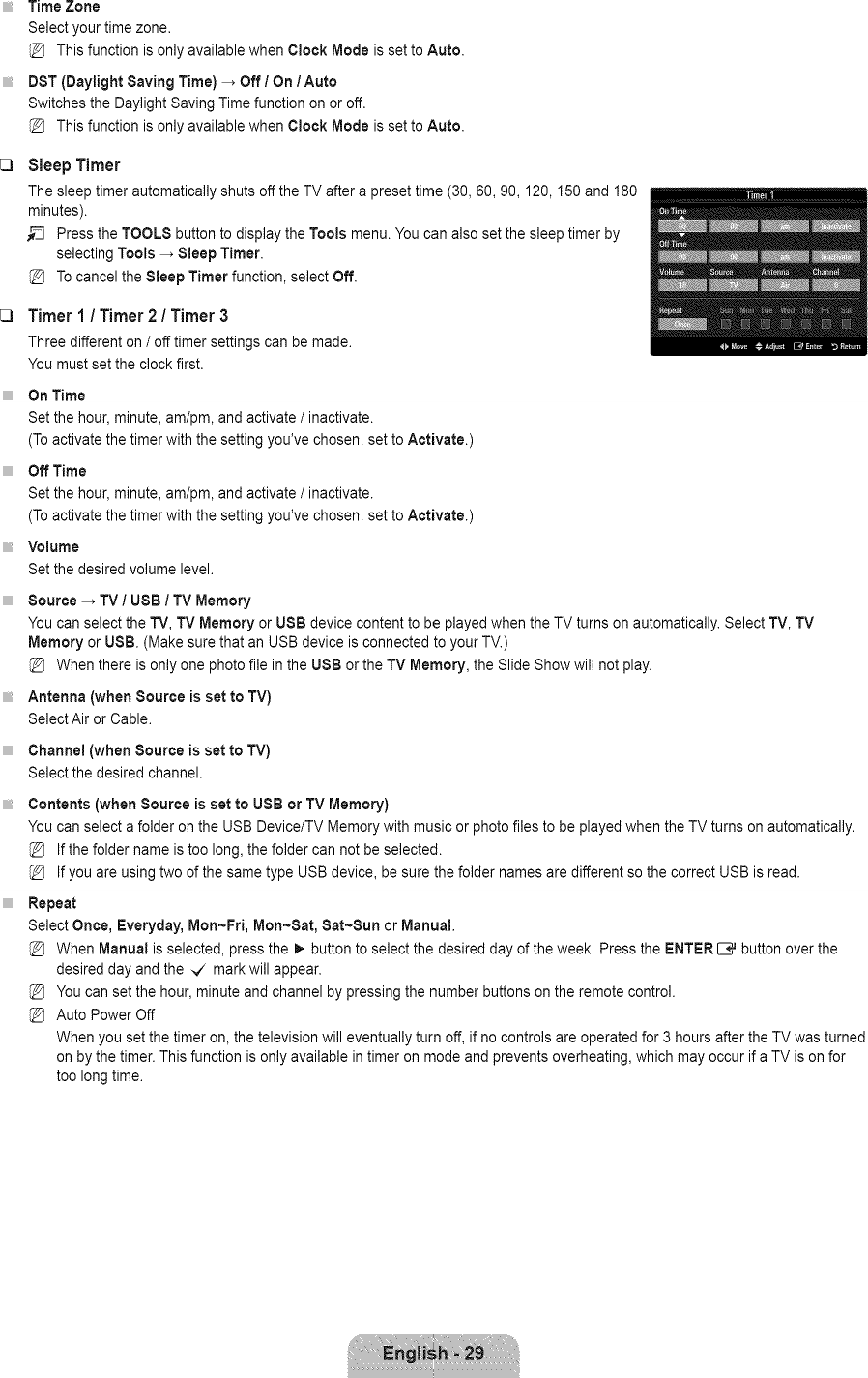 Samsung LN40B750U1F/XZA User Manual LCD TV Manuals And Guides L0904480