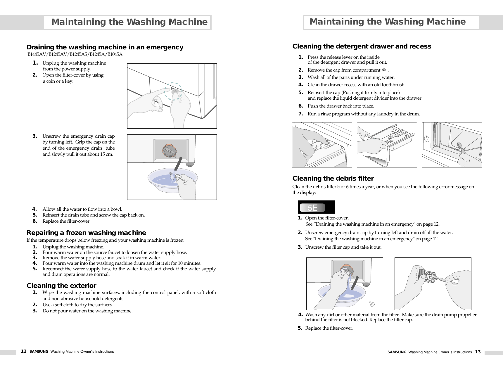 Samsung B1045a Users Manual B1445av 01986j Gb 1125