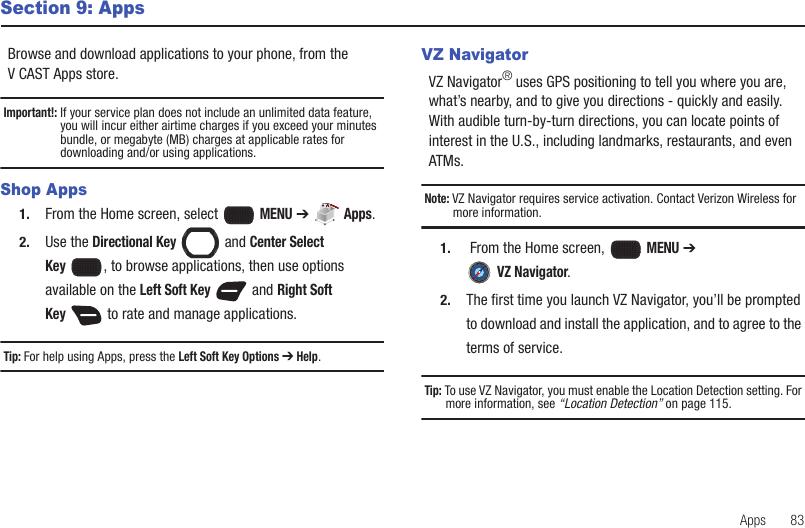 Samsung Convoy 2 Verizon User Guide U660 Manual