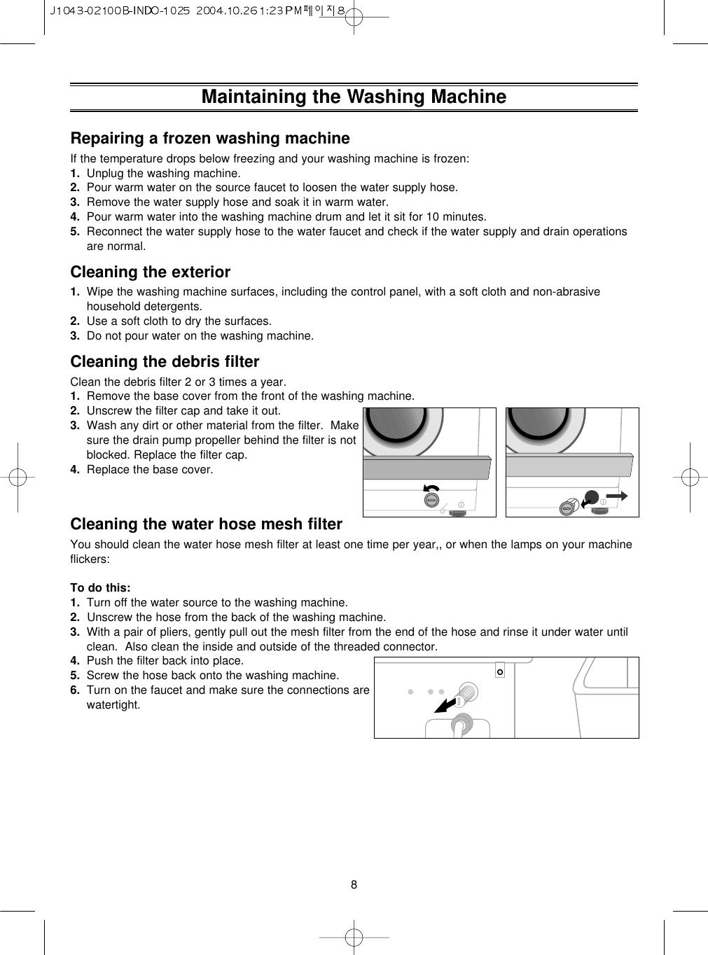 Samsung F1043 F843 Users Manual J1043 02100B INDO 1025