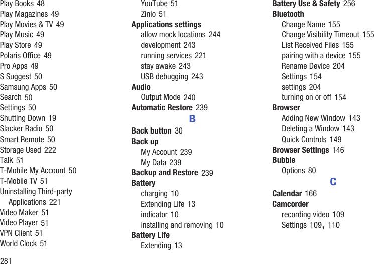 Samsung Galaxy Tab 2 10 1 T Mobile Users Manual SGH T779