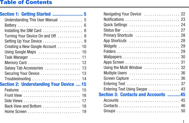 Samsung Galaxy Tab 3 Sm T217Azkaatt Users Manual T217A User