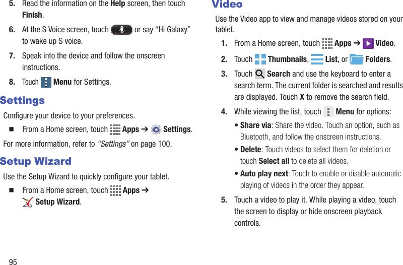 Samsung Galaxy Tab 4 10 1 Verizon User Guide SM T537
