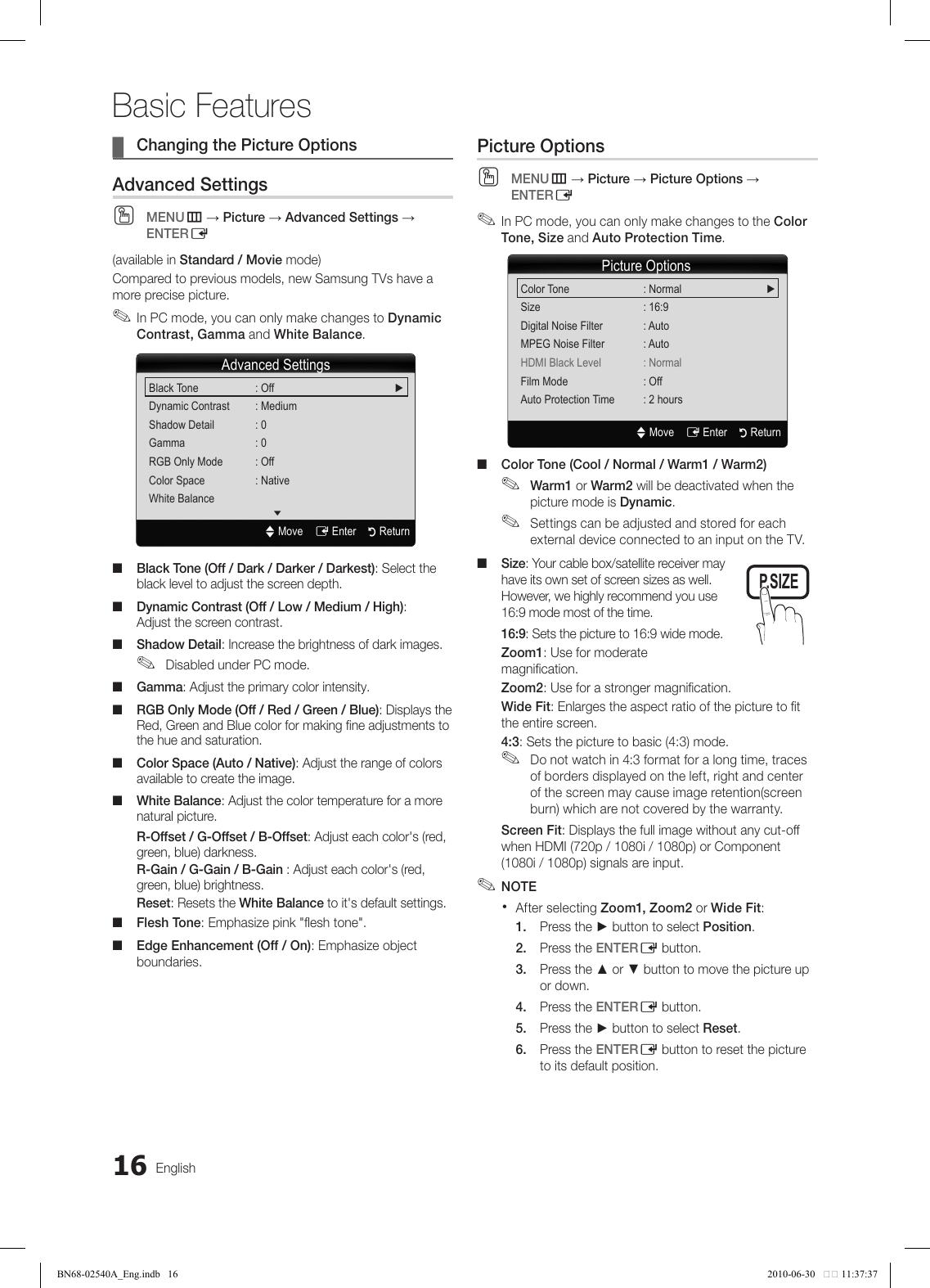 Samsung Ln40C540 Users Manual