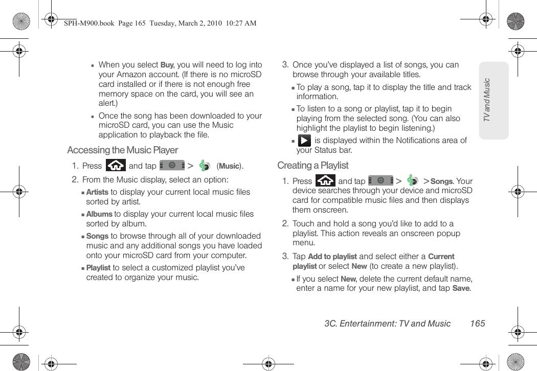 Samsung Moment Sprint User Guide SPH M900