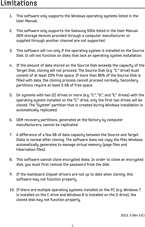 Samsung Mz7Pc128 Users Manual