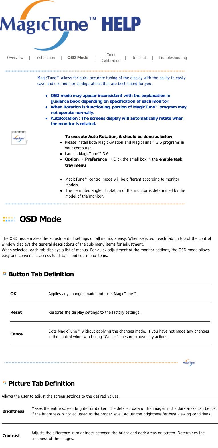 Samsung Computer Monitor 205Bw Users Manual SyncMaster User