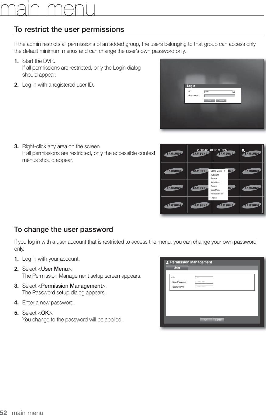 Samsung Dvr Sde 400X Users Manual User 400X, 500X