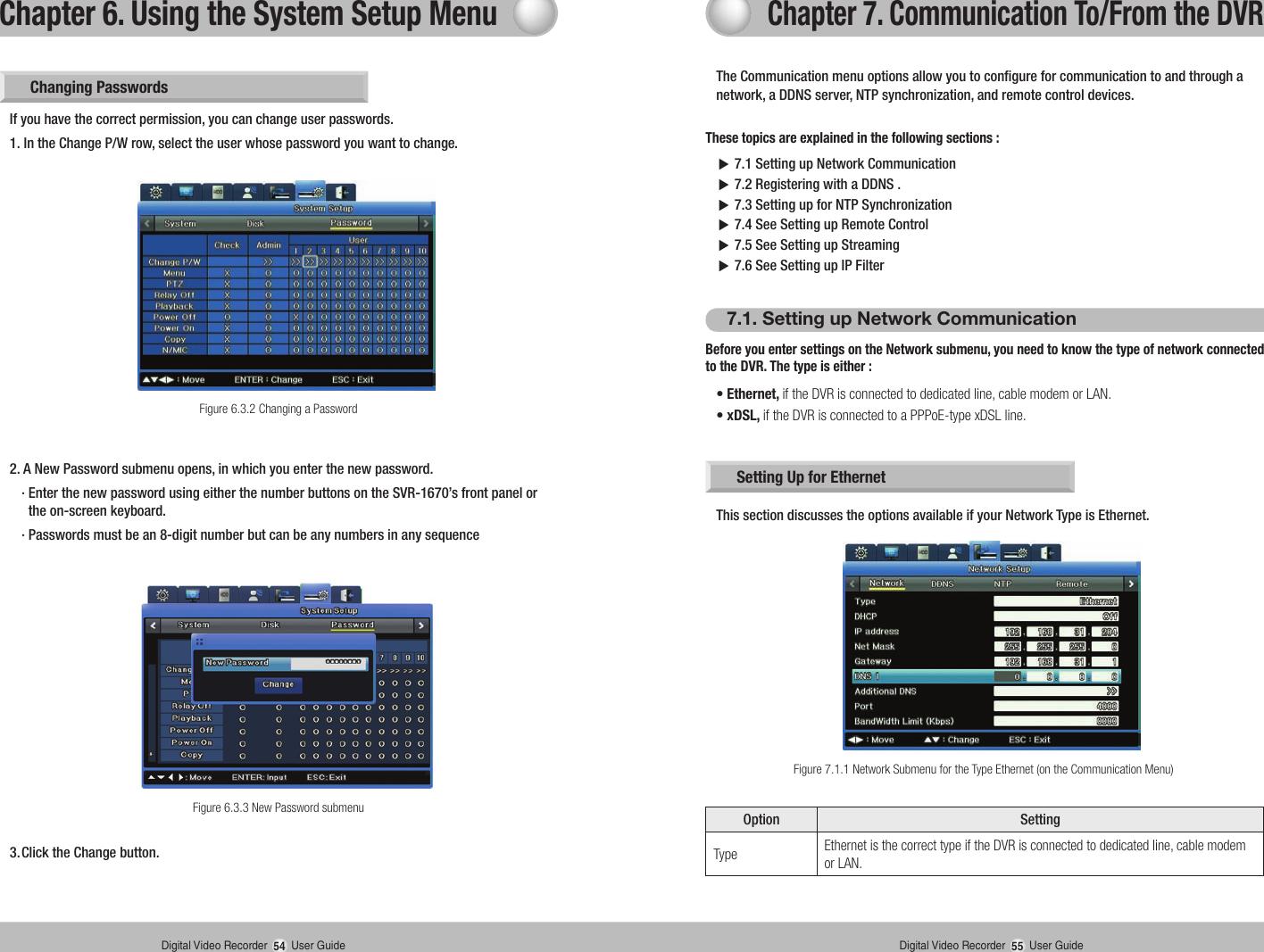 Samsung Dvr Svr 1670 Users Manual