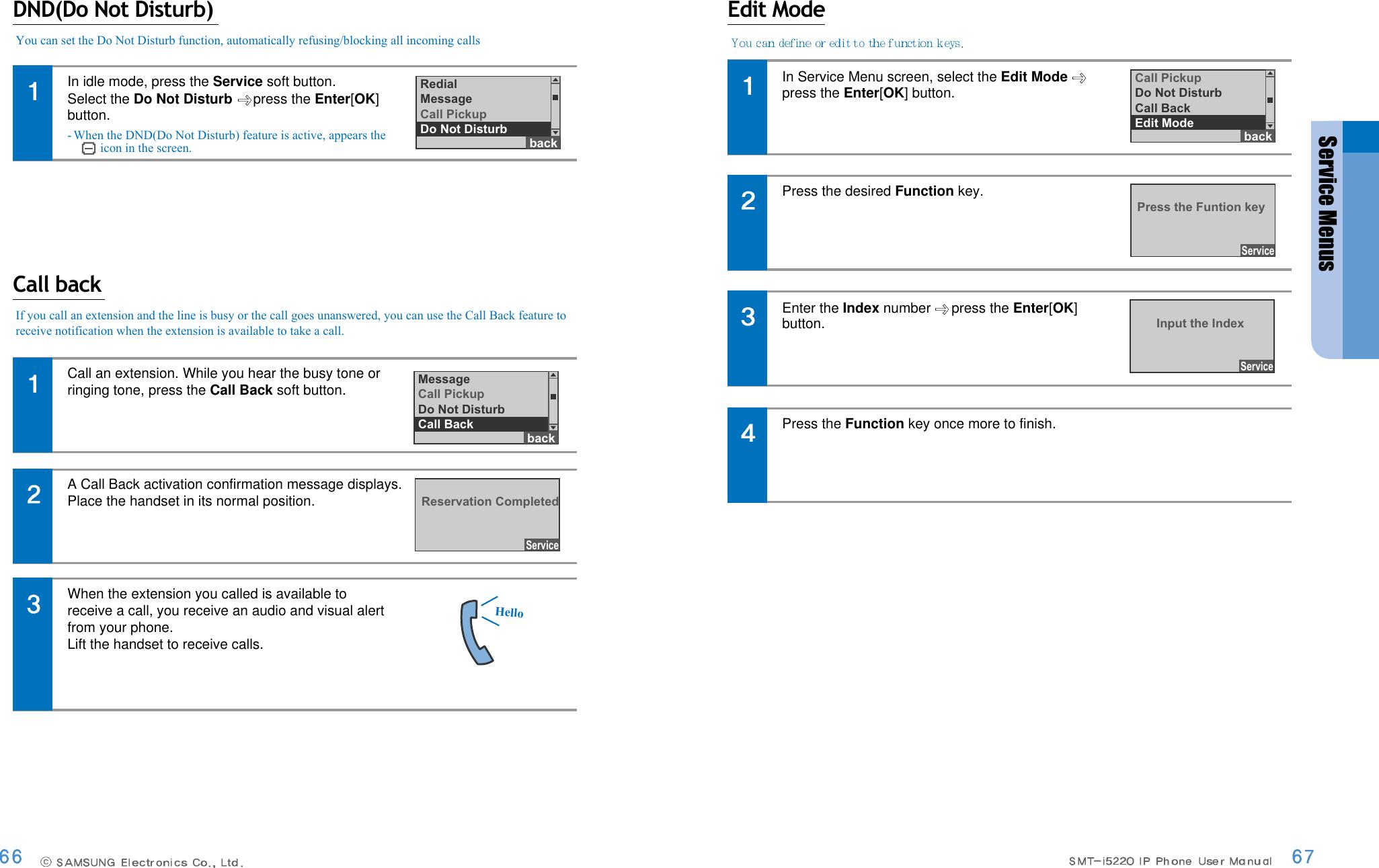 Samsung Ip Phone Smt I5220 Users Manual i5220Eng 0907 è
