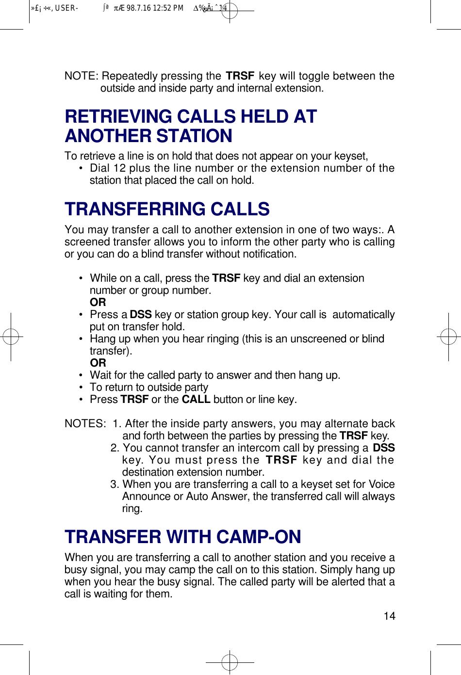 Samsung Telephone Lcd 12B Users Manual