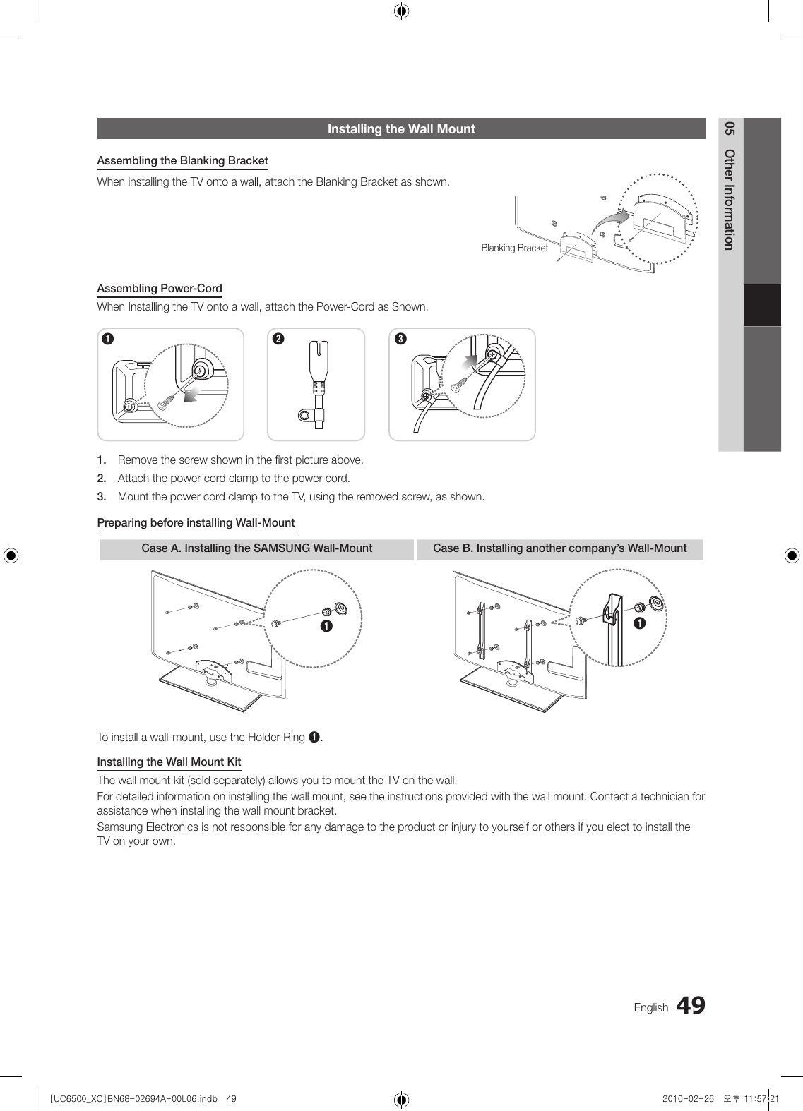 Samsung Ue32C6500 Users Manual on