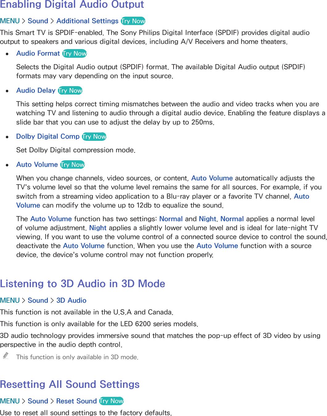 Samsung Un40H5201Afxza Users Manual
