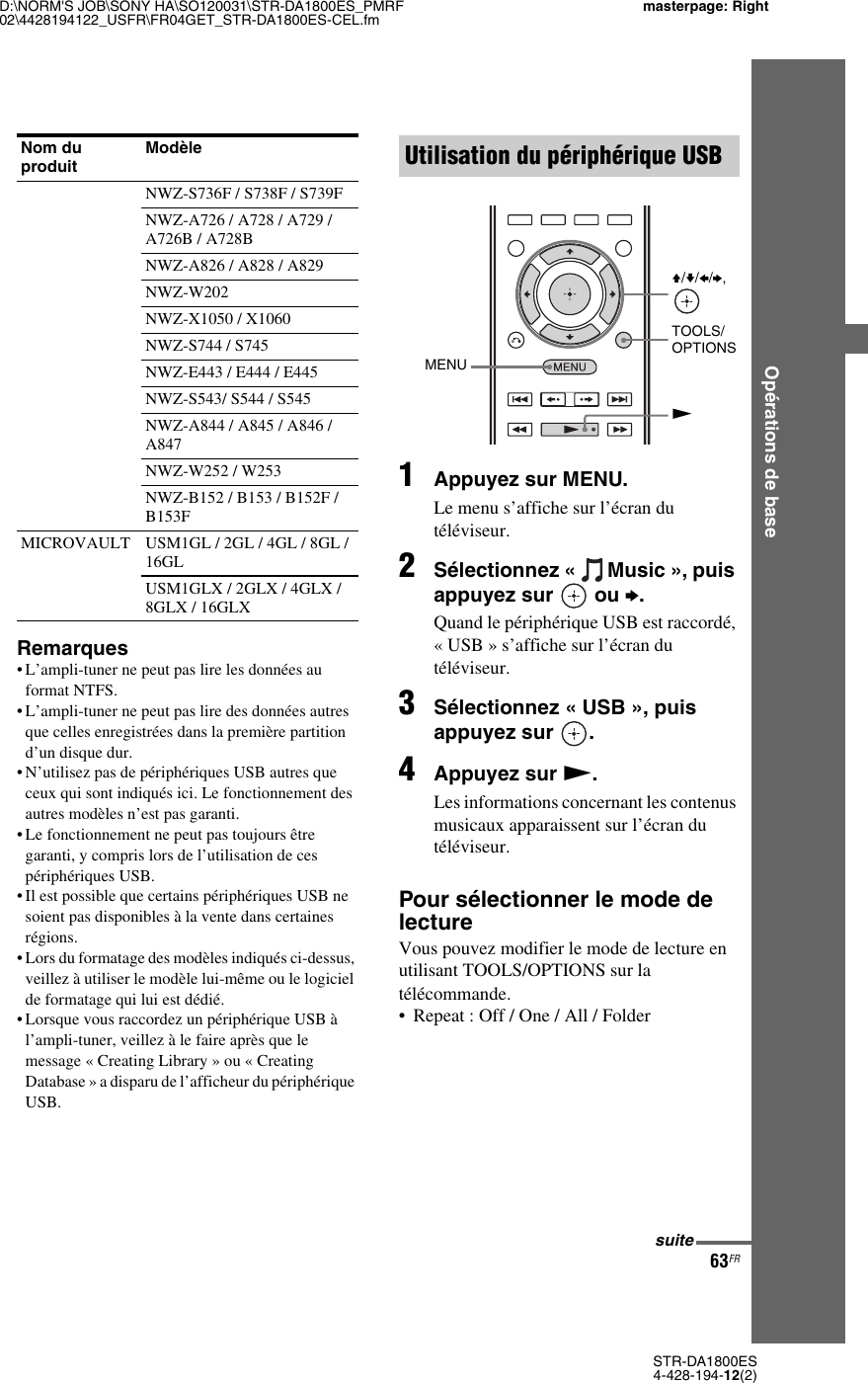 Samsung Sony Str Da1800Es Users Manual