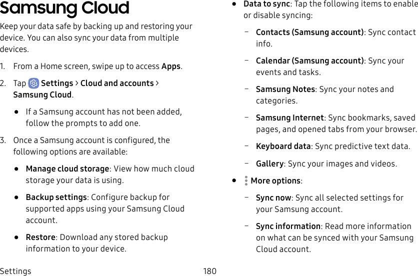 Samsung Galaxy S8/S8+ G950U1/G955U1 User Manual UNL SM G955U1