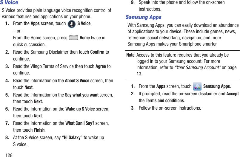 Samsung R830 Here axiom user manual