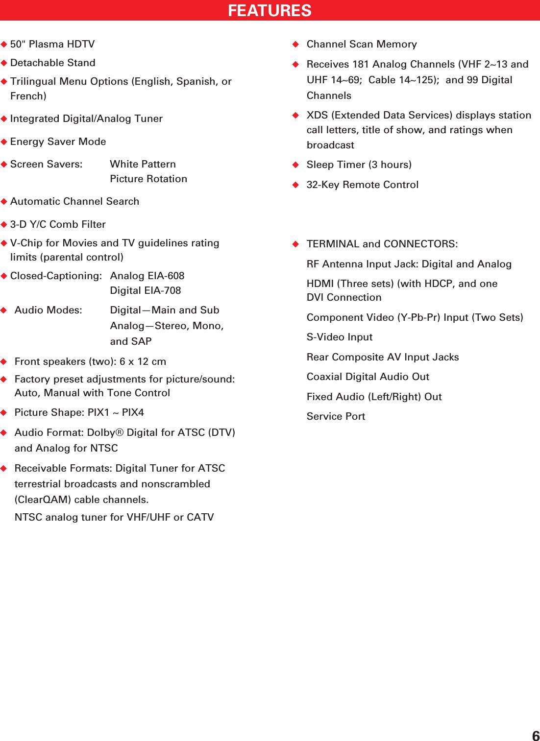 Sanyo Dp50747 Owners Manual WEB OM