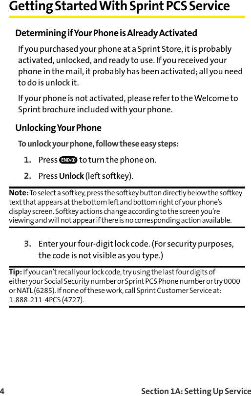 Sanyo Sprint Pcs Vision Phone Vi 2300 Users Manual Guide