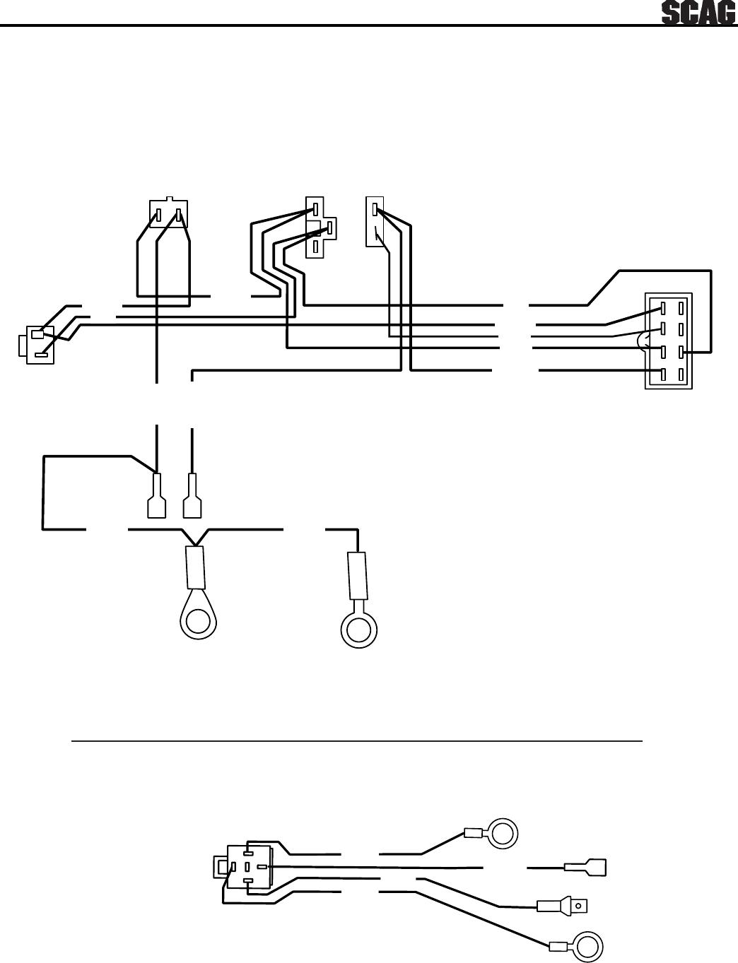 Scag Power Equipment Swz Users Manual 96 Op Man Section Kawasaki Fc420v 14 Hp Wiring Diagram 33