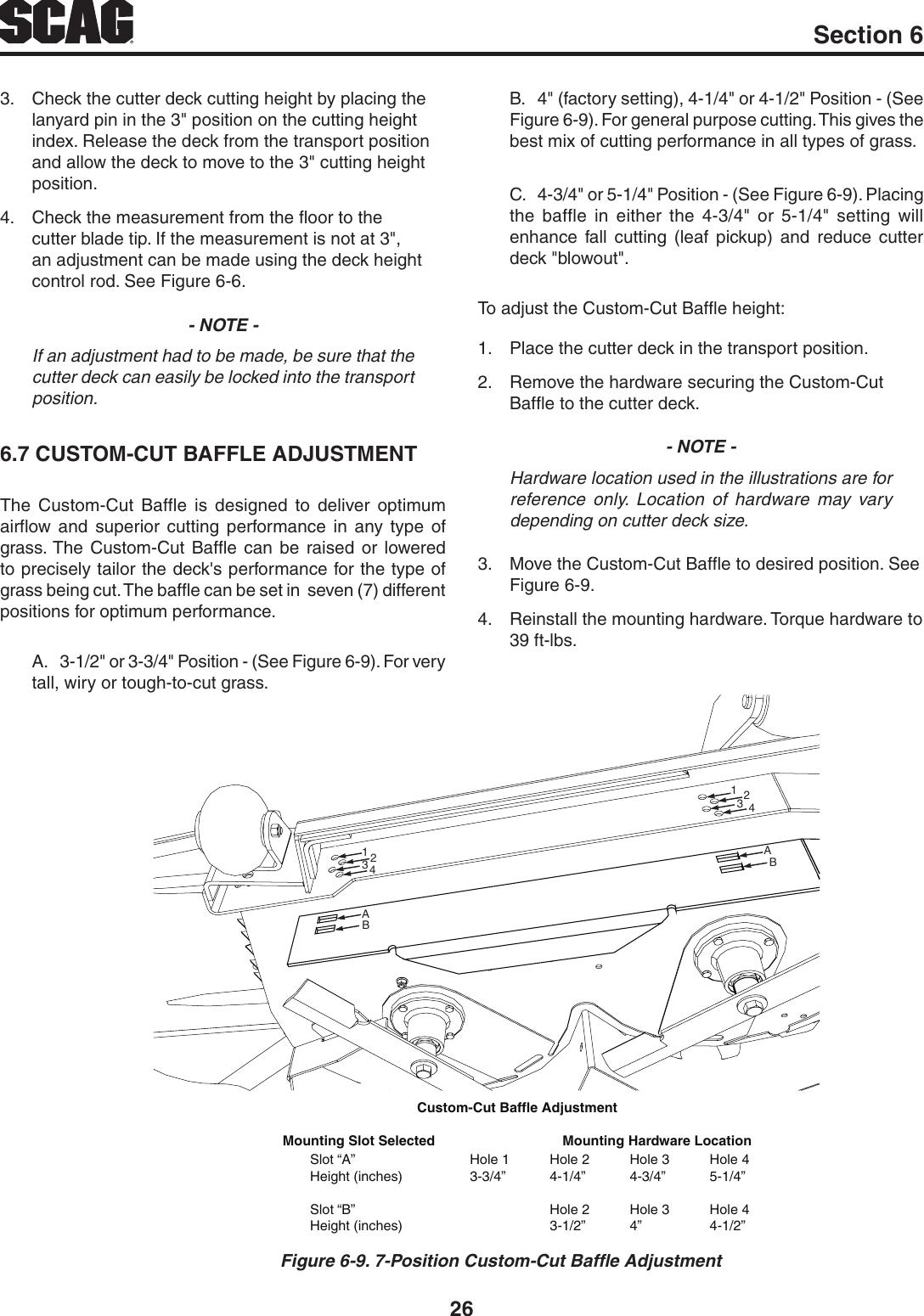 Scag Power Equipment Tiger Cat Stc48V 22Fs Users Manual STC