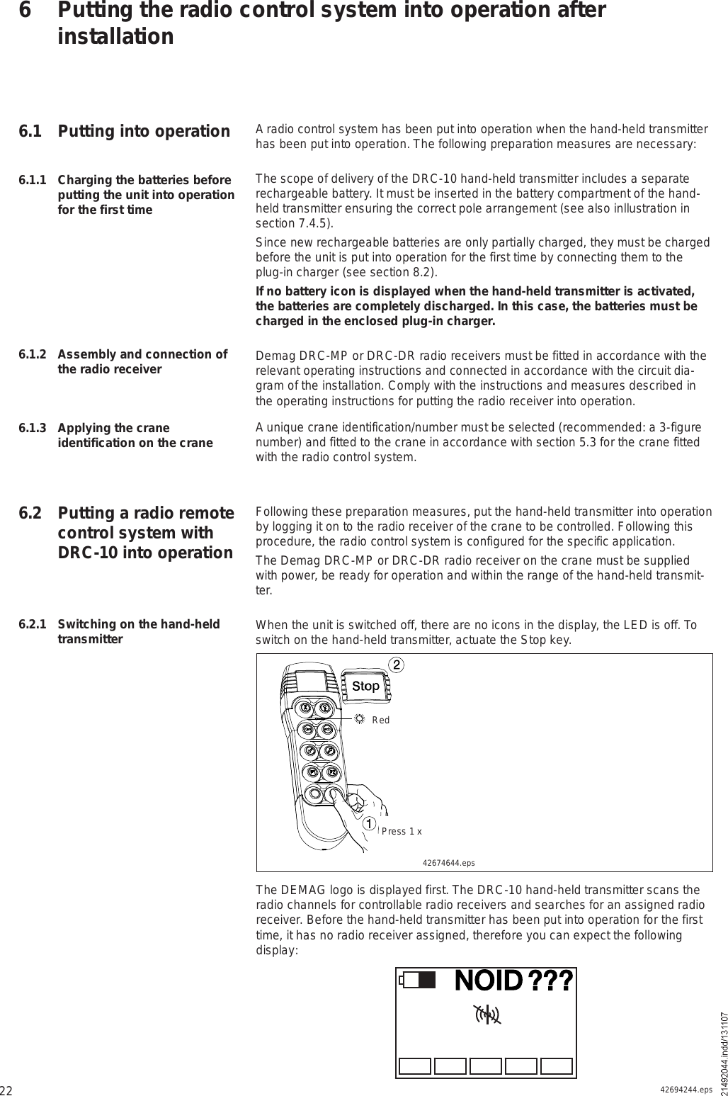 [ANLQ_8698]  Scanreco D210TR03FH917 Remote Control User Manual DRC 10 | Demag Drc Dc Wiring Diagram |  | UserManual.wiki