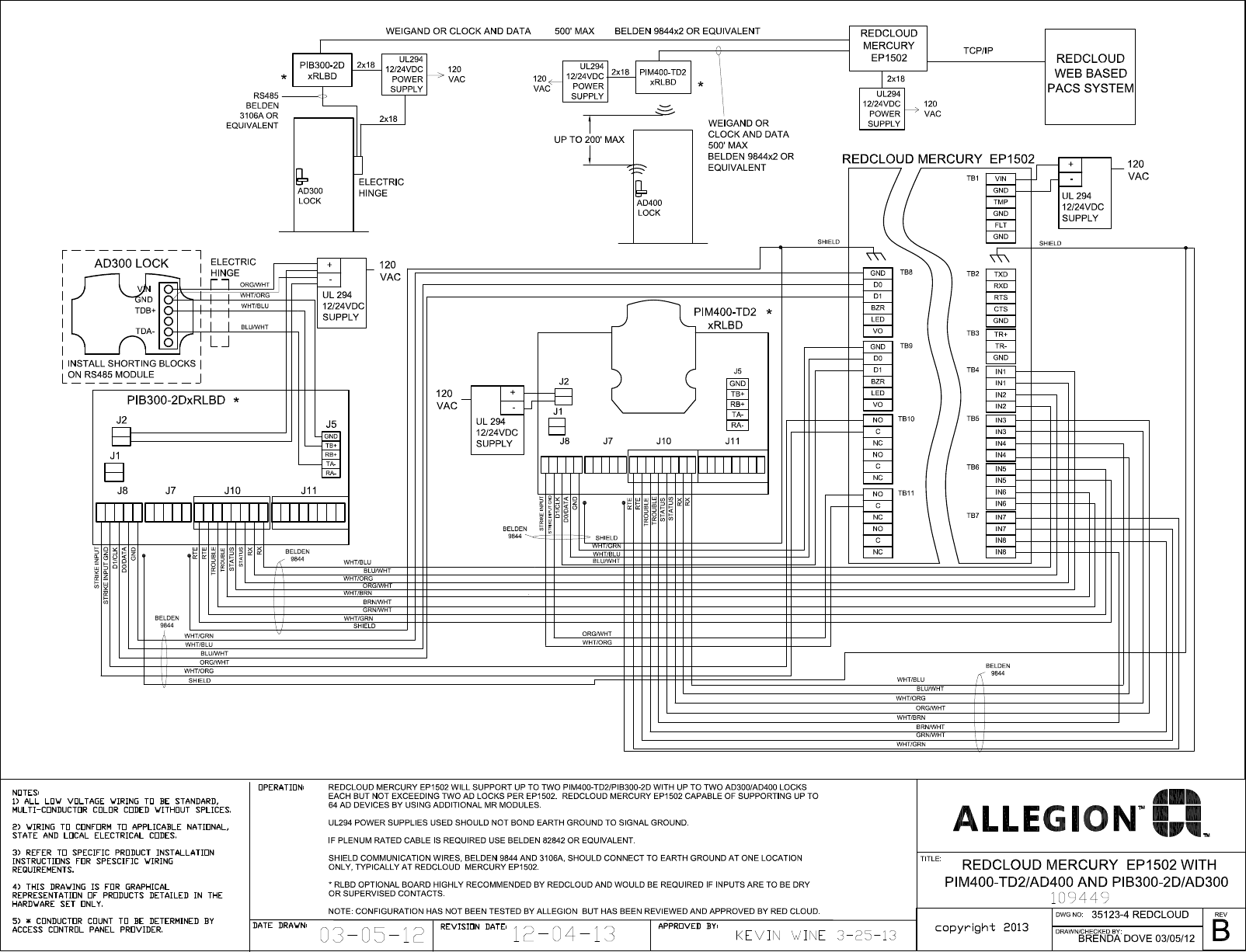 Schlage Electronics C Ad300 Ad400 Wiring Diagram Red Cloud Ep1502 Wiegand 109449