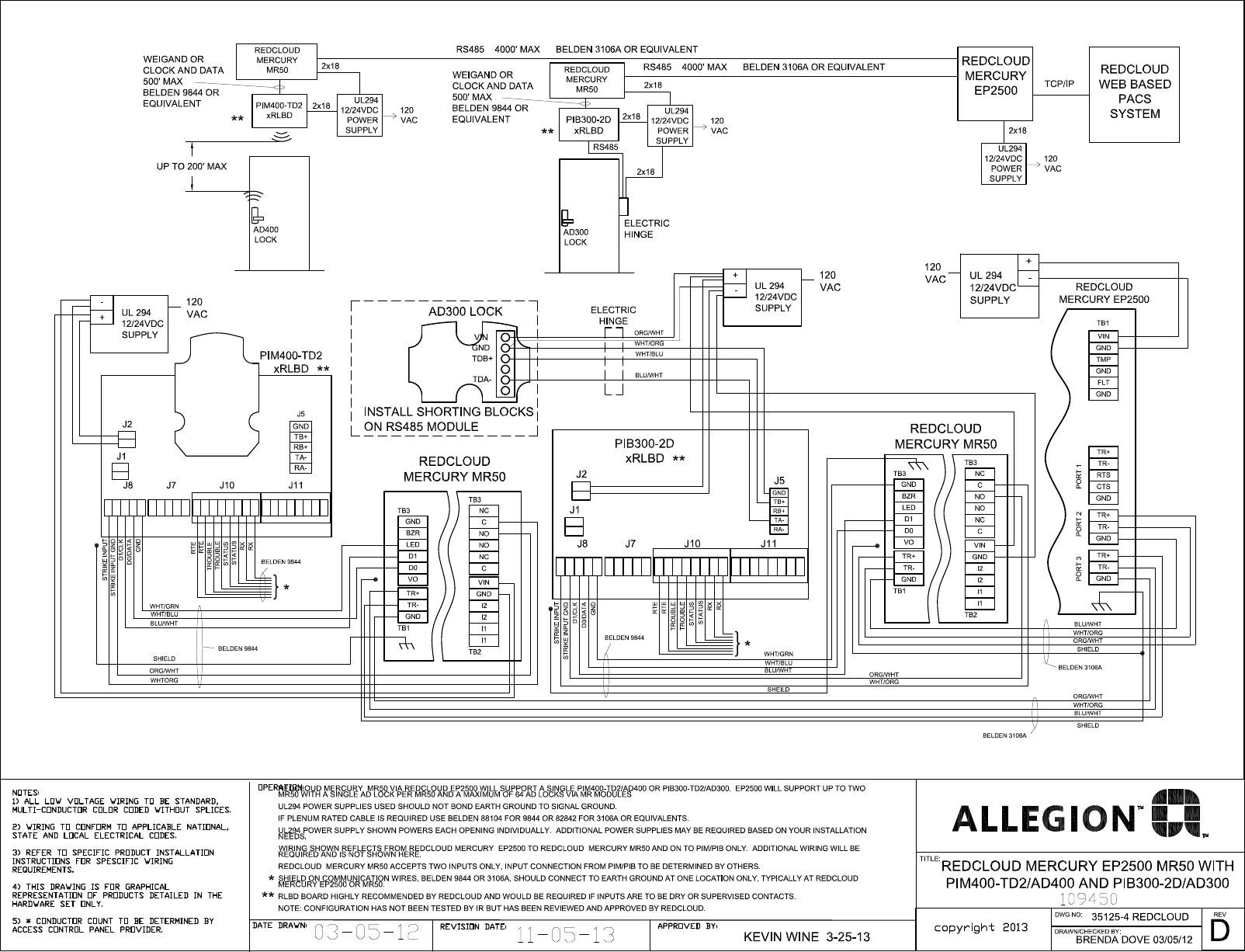 Schlage Electronics C Ad300 Ad400 Wiring Diagram Red Cloud Ep2500 Wiegand Mr50 109450